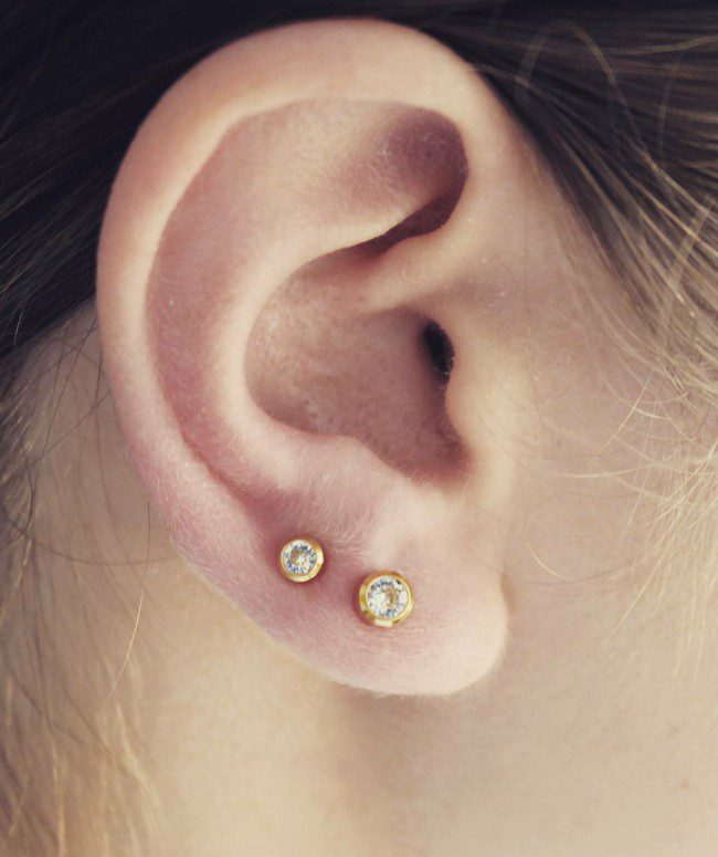 Lobe piercing | Types of Ear Piercing in 2020