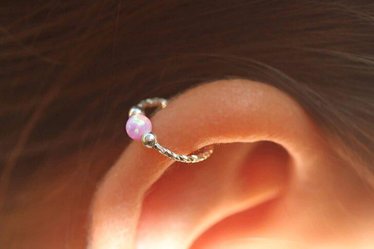 2. Helix piercing | Types of Ear Piercing in 2020