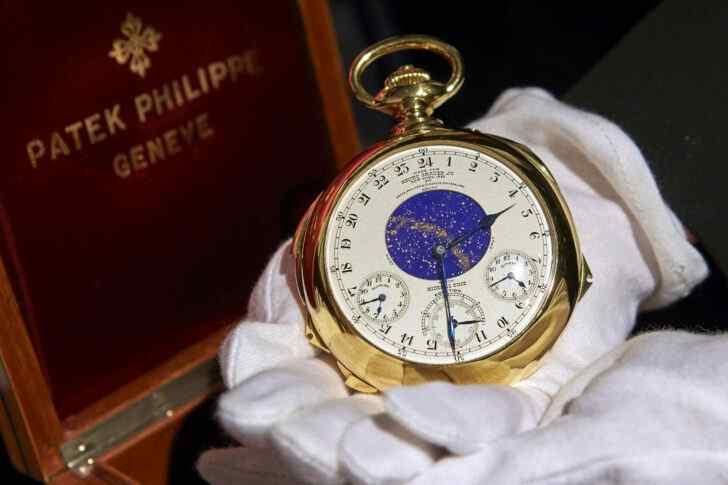 3. Patek Philippe Henry Graves Supercomplication