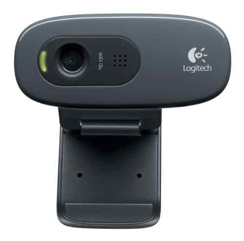 Logitech HD Webcam C270 with a built-in microphone