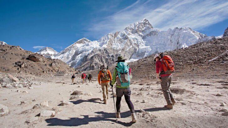7. Everest Base Camp Trek- Nepal | best trekking routes in the world