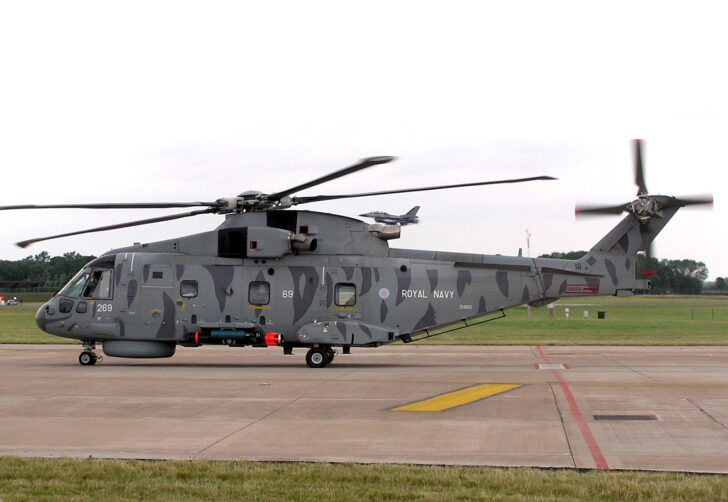 AW101 (EH101) Merlin | Top 10 Fastest Helicopters in the World