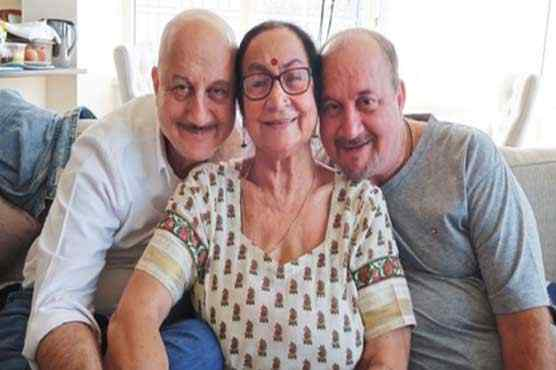 Anupam Kher family members test COVID-19 positive