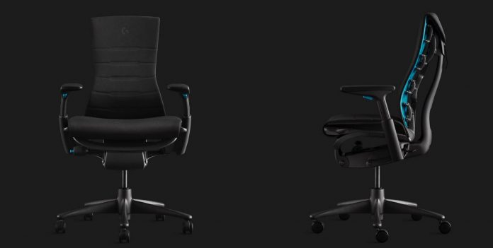 Logitech and Herman Miller Co-Production New Gaming Chair