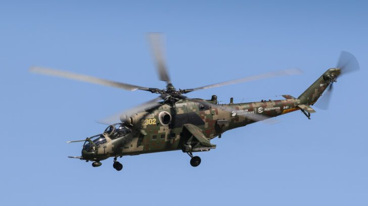 Mi-35M | Top Fastest Helicopter in the World