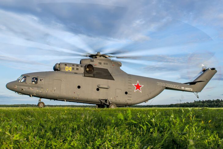 Mil Mi-26 (Halo) | Top 10 Fastest Helicopters in the World