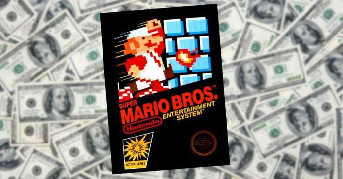 Super Mario Bros becomes the most expensive video game ever