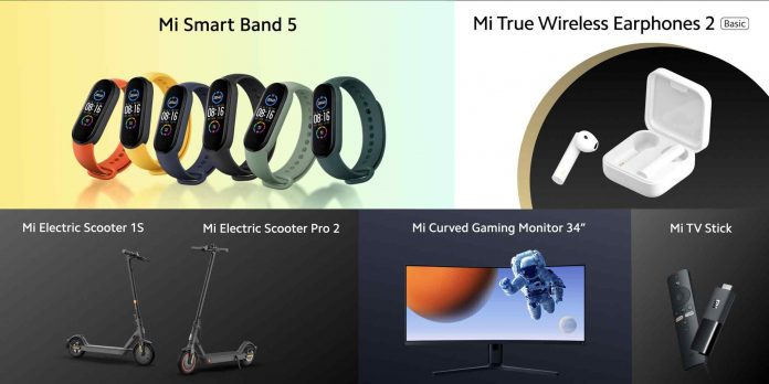 Xiaomi introduced a series of lifestyle products