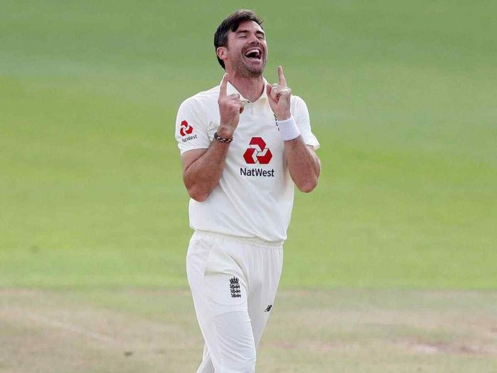 Anderson became the first fast bowler to take 600 Test wickets