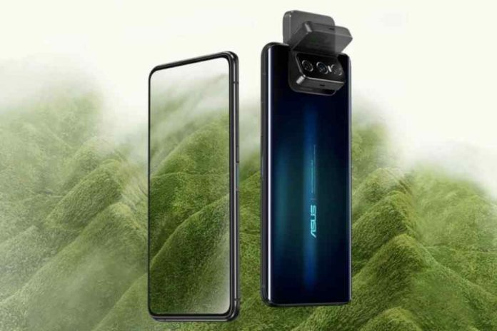 Asus Zenfone 7 Pro as the first smartphone in history with a triple swivel camera