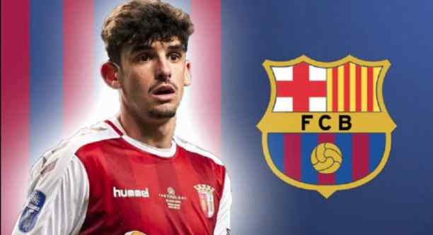 Barcelona SignedFrancisco Trincao for 31 million Euros