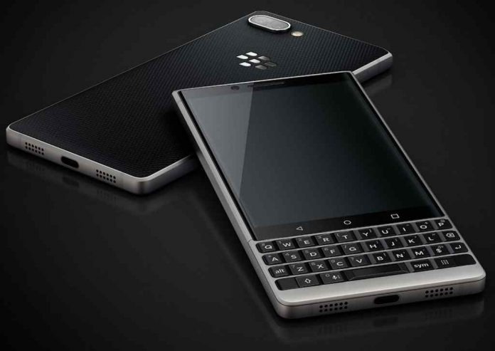 BlackBerry is back with its iconic keyboard