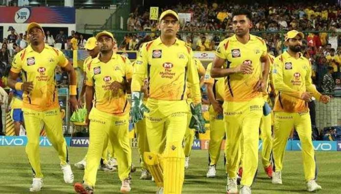 CSK will not play the opening match of IPL 2020