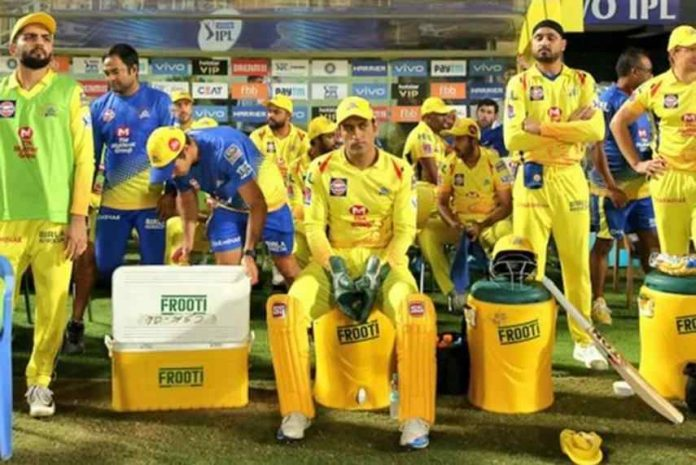 Chennai Super Kings team support staff tested Corona Positive