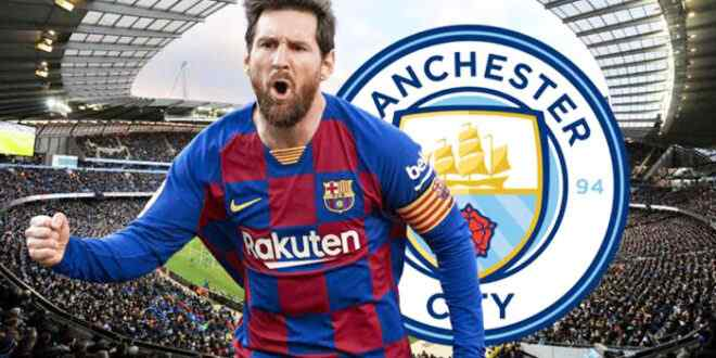Manchester City has long-term plans to bring in Messi