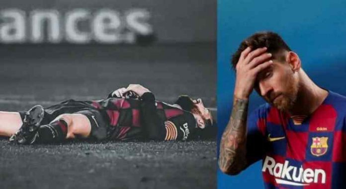 Messi asked permission to leave the club