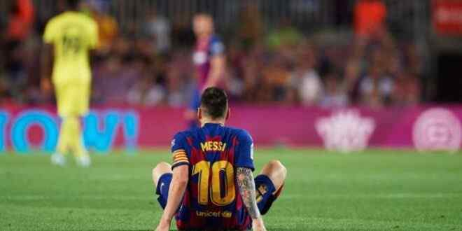 Messi can be punished by FIFA