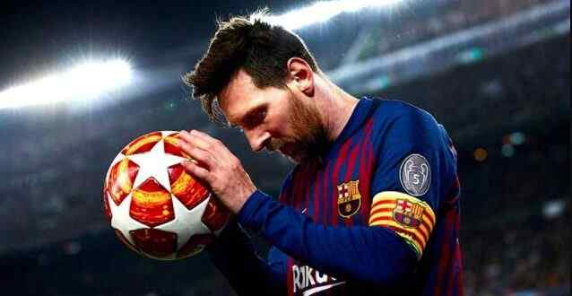 Messi has set all the world records for Barcelona