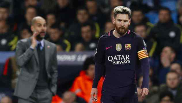 Messi to sign a long term contract with Manchester City