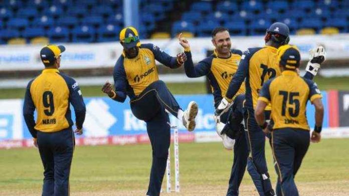 Nabi became the first bowler in CPL to take 5 wickets
