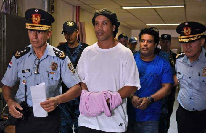 Ronaldinho has been released from prison after 32 days