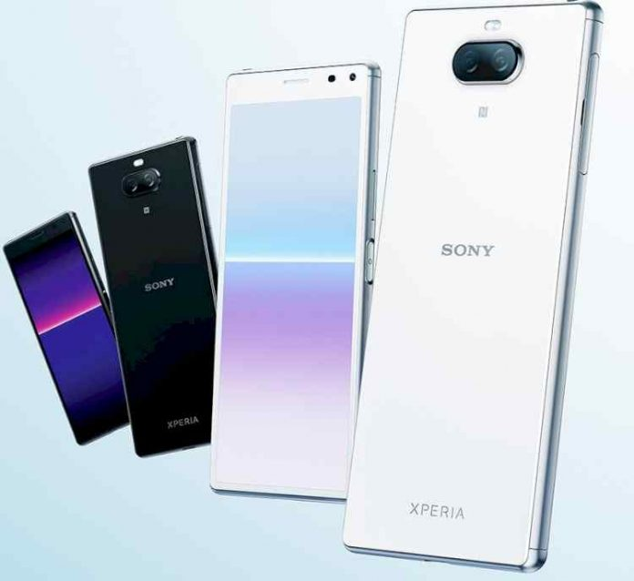 Sony quietly presented the Xperia 8 Lite