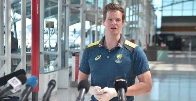 Steven Smith is disappointed by the absence of spectators