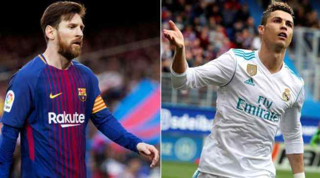 The committee voted for Messi, the fans voted for Ronaldo