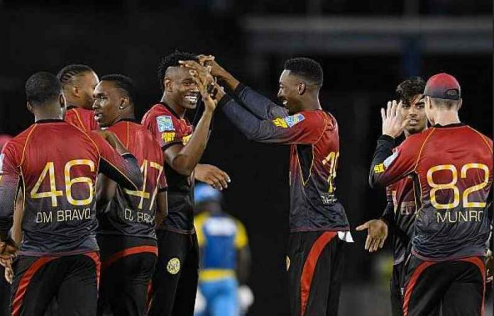 Trinbago Knight Riders are top of the CPL 2020 Points Table