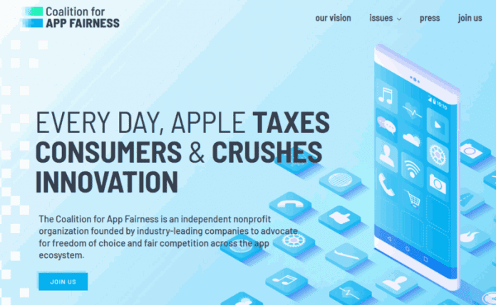 Coalition for the Fairness of Applications Against Apple