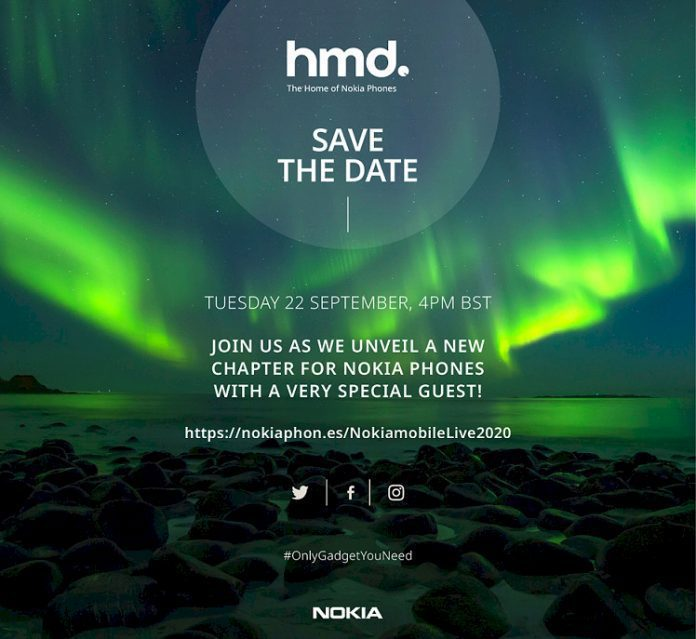 HMD Global to host event on September 22 to launch new Smartphones