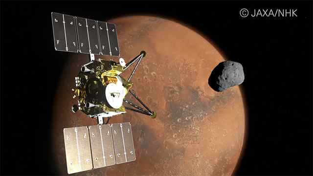 Japan will send an 8K camera to Mars and its satellites