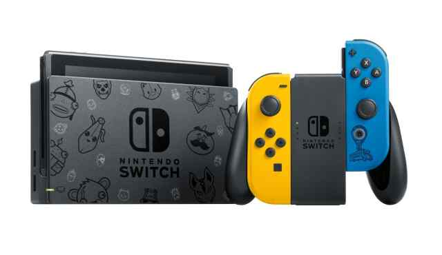 Nintendo Switch Console The Fortnite Special Edition