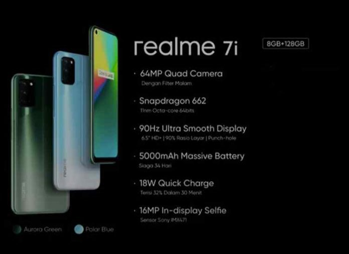 Realme 7i Specifications, Features and Price