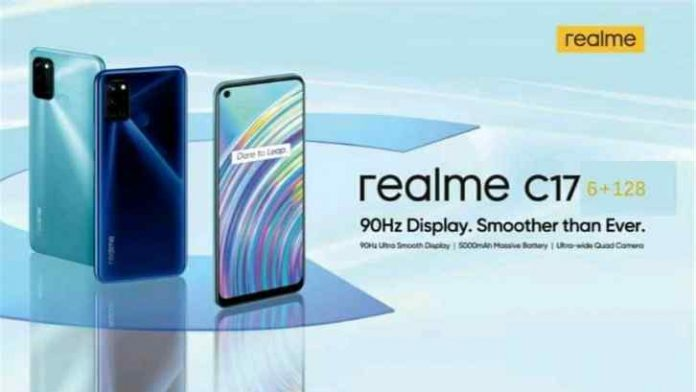 Realme C17 Specifications