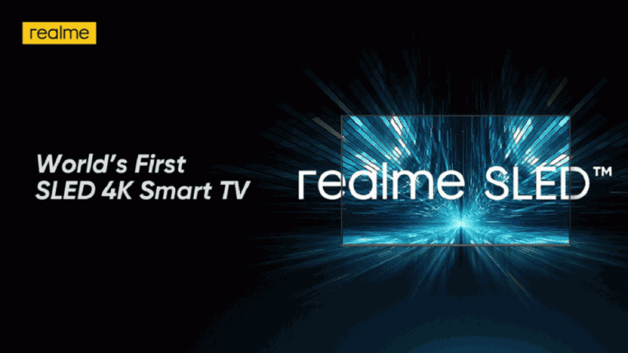 Realme SLED 4K TV Price and Release Date