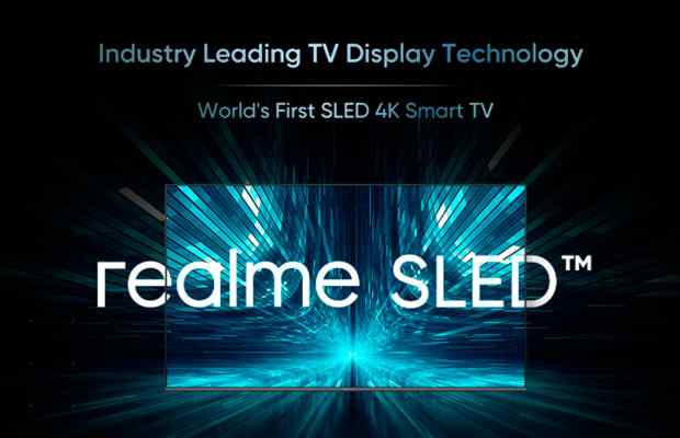 Realme announces world's first SLED 4K TV