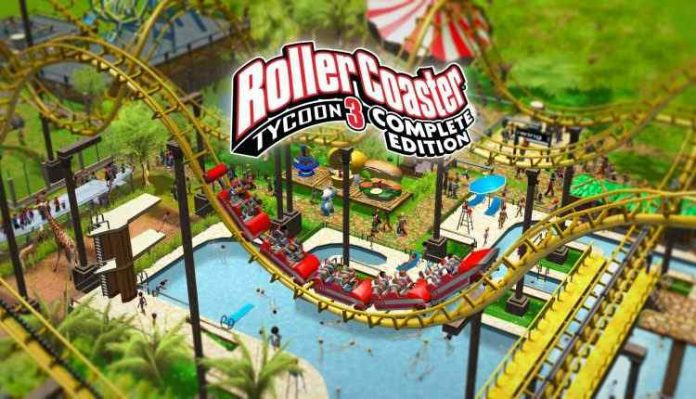 RollerCoaster Tycoon 3 Free on Epic Store