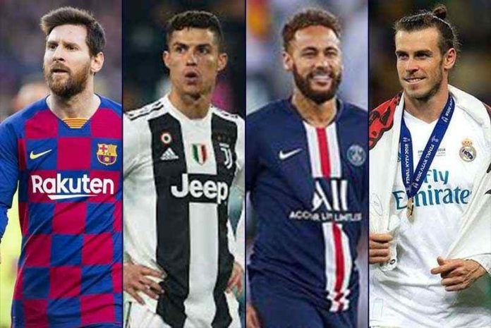 Top 10 most expensive footballers in the world