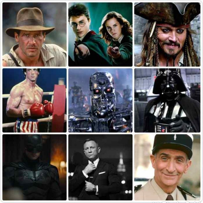 Top 10 most incredible roles in cinema