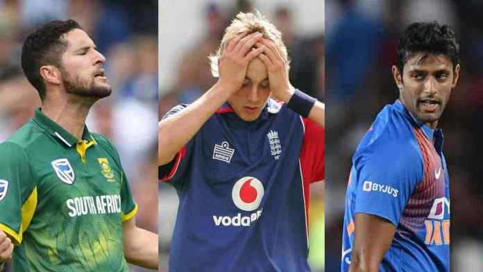5 bowlers who conceded most runs in a single over in T20 match
