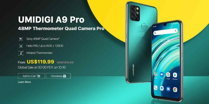 UMIDIGI A9 Pro Price and Release Date