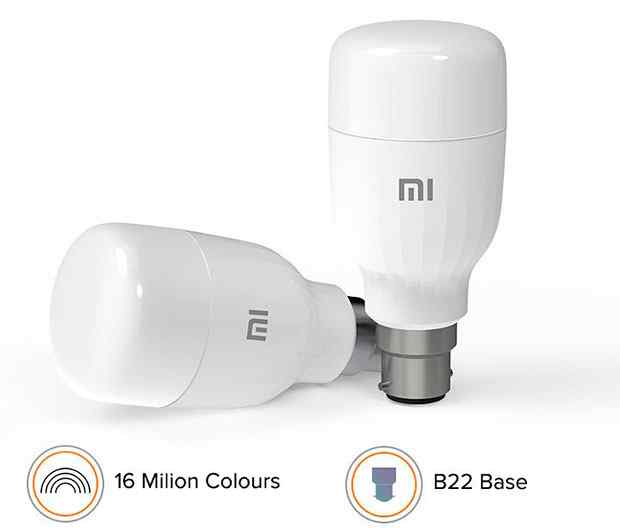 Xiaomi MI LED light bulb with a lifespan of 10 years