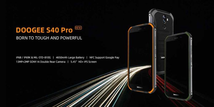 DOOGEE S40 Pro Price Release Date and Specifications