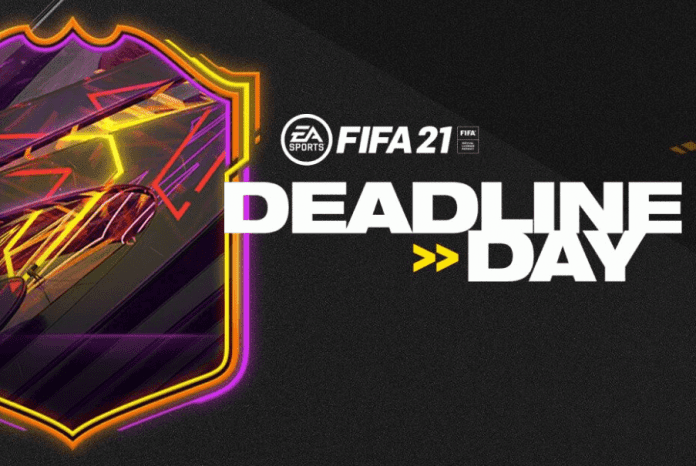 Deadline Day pack for free in FIFA 21