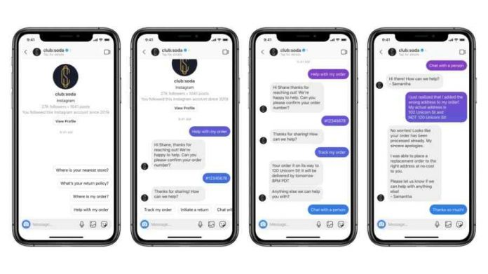 Facebook is adding Instagram support to its Messenger API