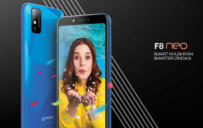 Gionee F8 Neo Price, Release Date, and Specifications