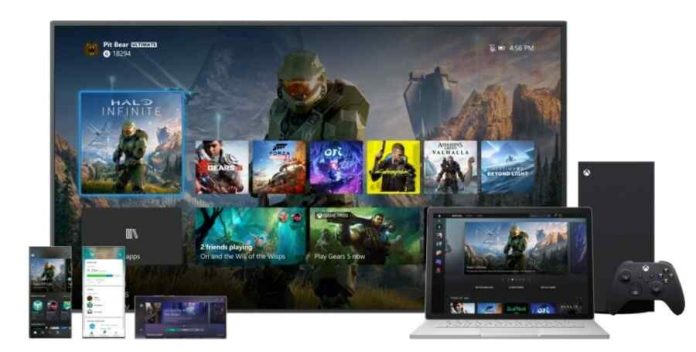 Microsoft Xbox Introduces New User Interface