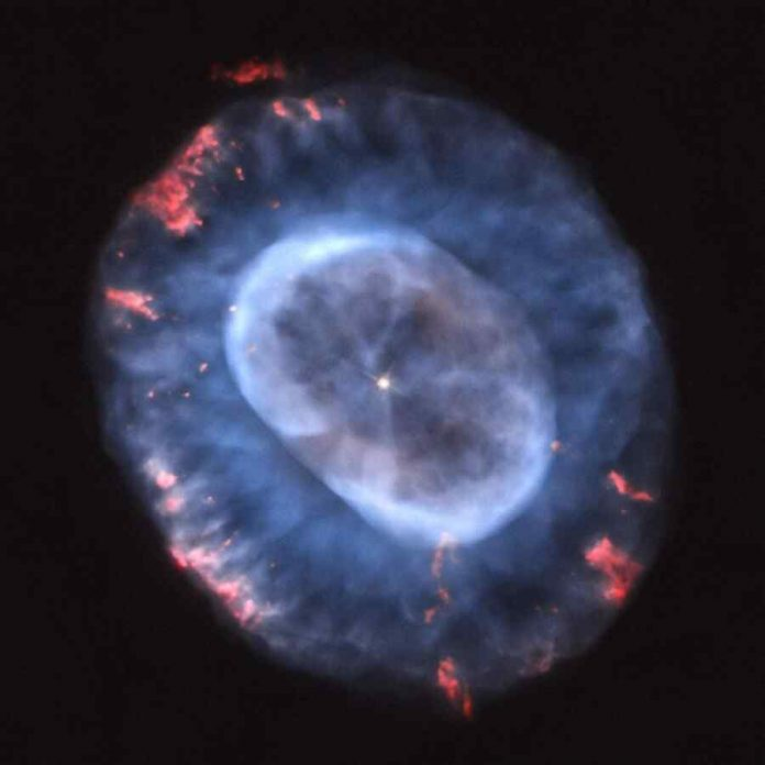 Nasa Posted the Caldwell 22 Nebula The Blue Snow Images