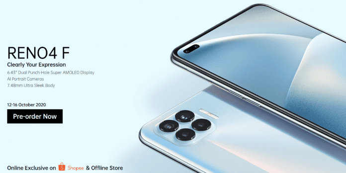 OPPO Reno4 F Price, Specifications and Release Date